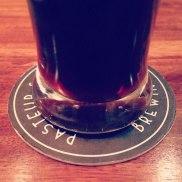 Smoky whiskey-barrelled vanilla beer